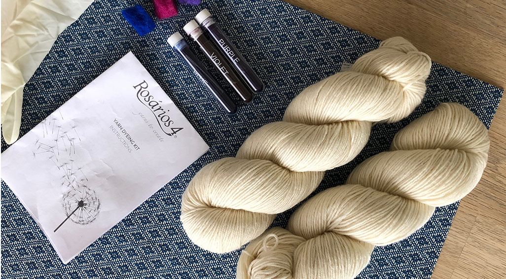 Yarn Dying – DO TRY THIS AT HOME!
