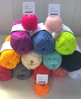 View our Yarn and Colors range